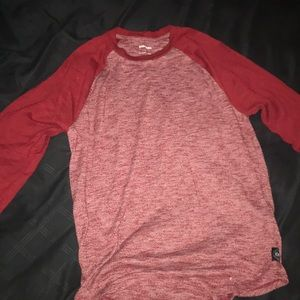 Express fitness sweater red